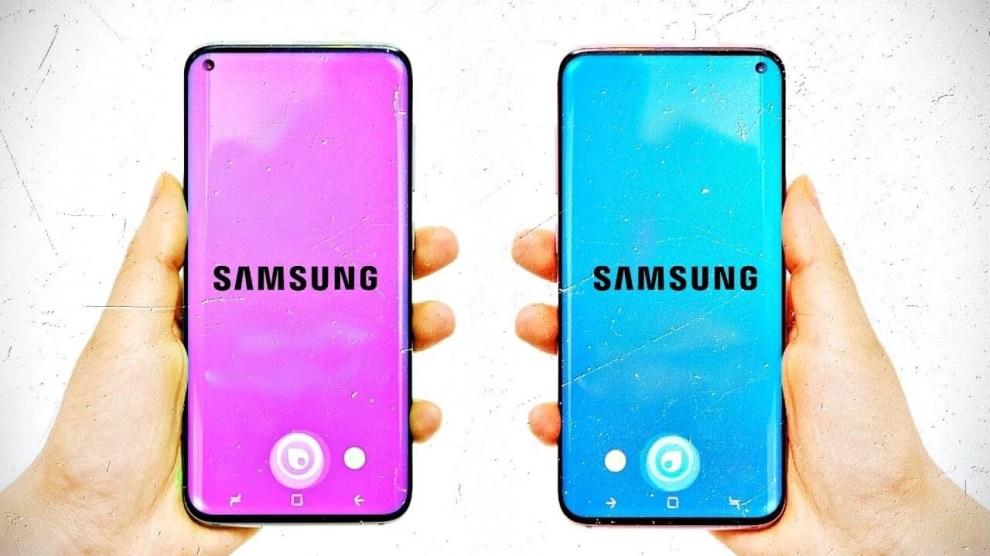 Patente revela design da tela do novo Samsung Galaxy S10 4