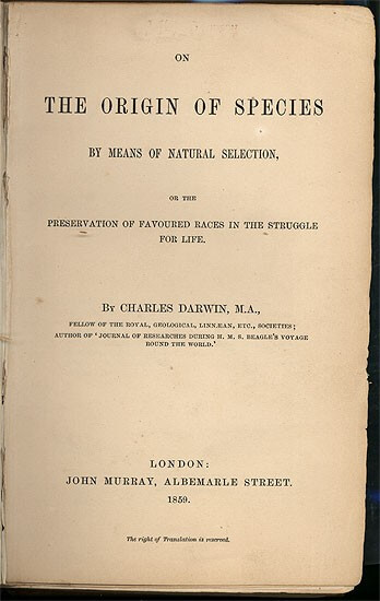 """Há 159 anos, """"A Origem das Espécies"""" era publicada 5"""