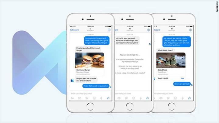 Facebook M, um dos produtos e serviços descontinuados em 2018