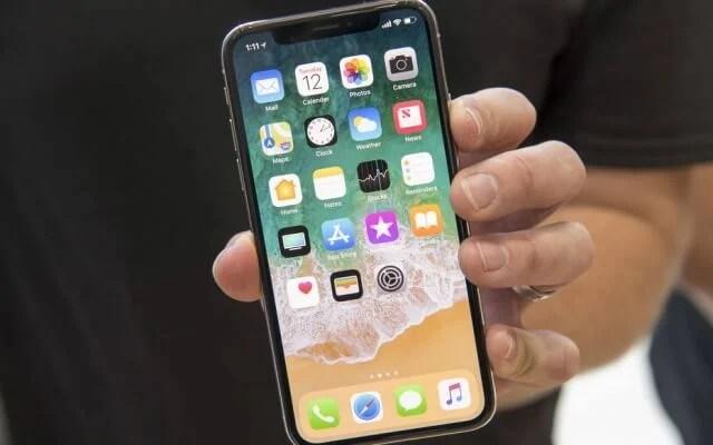 Iphone X, um dos produtos e serviços que foram descontinuados em 2018