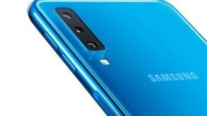 Samsung Galaxy A7 - Sensor de Impressão Digital