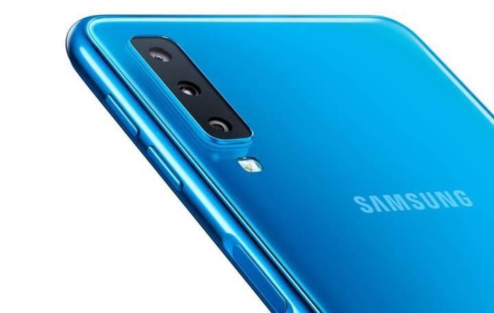 Samsung A7 - Sensor de Impressão Digital