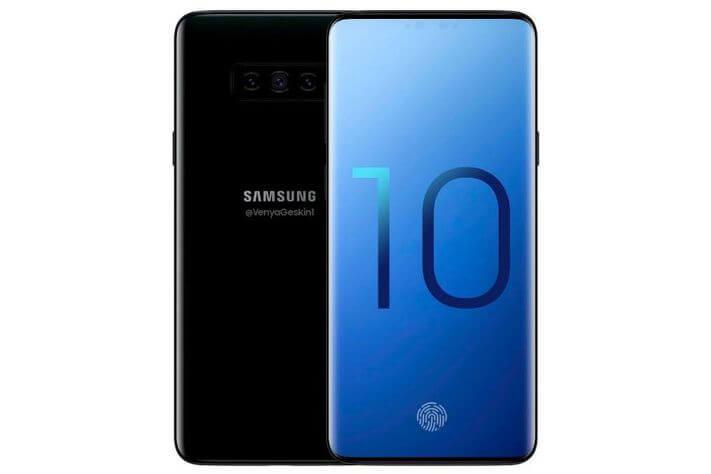 Samsung Galaxy S10 Conceito