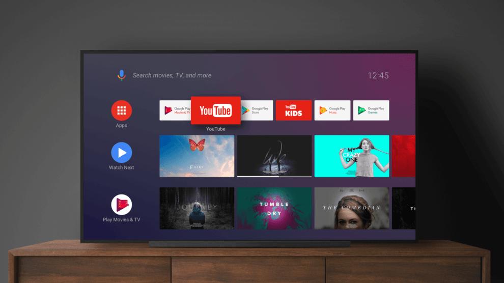 Android TV Aplicativos