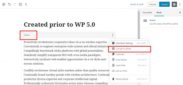 Nova atualização do Wordpress 5.0 já está disponível e traz novidades 12
