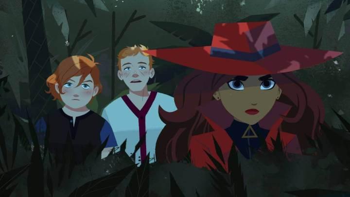 Novas imagens revelam o visual de Carmen Sandiego na animação da Netflix 8