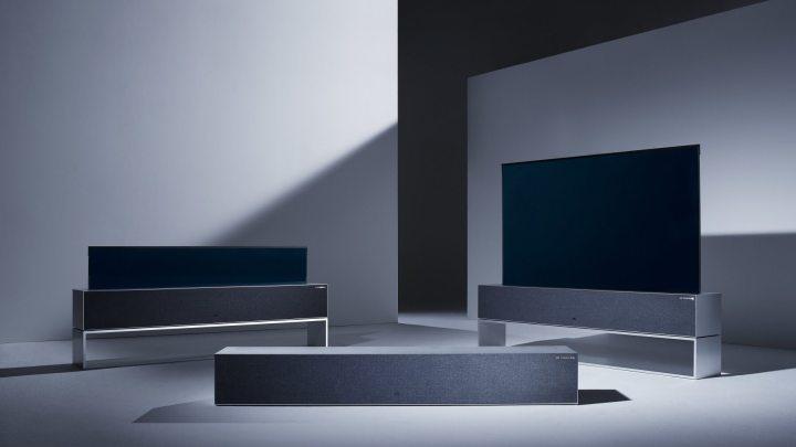 LG Signature OLED TV R garantiu mais de 70 prêmios para a LG na CES 2019