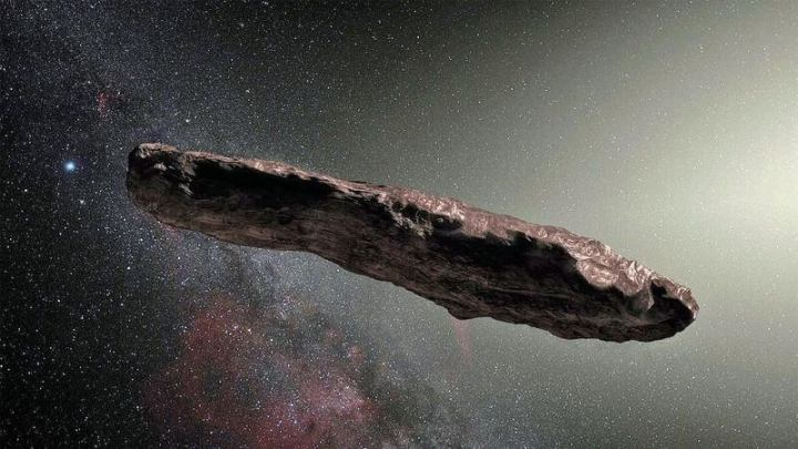 Oumuamua, o asteróide misterioso