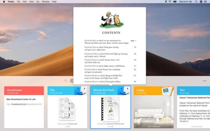Captura de tela do Paste 2, presente na lista de melhores aplicativos de macOS e iOS de 2018