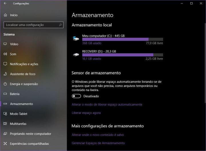Faça o Windows 10 apagar 'automagicamente' os arquivos temporários 6