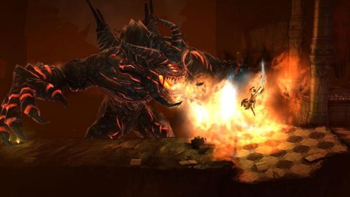 Captura de tela do jogo Grimvalor, para iOS