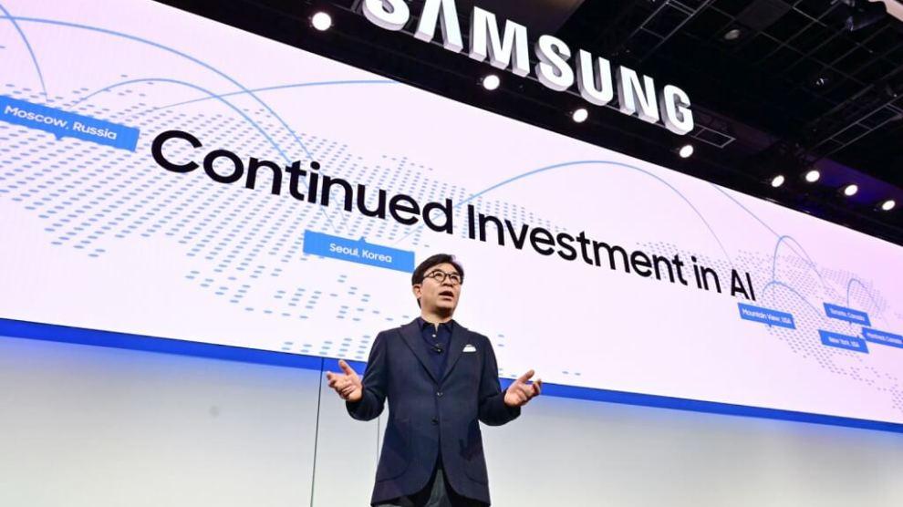 HS Kim, CEO da Samsung Electronics