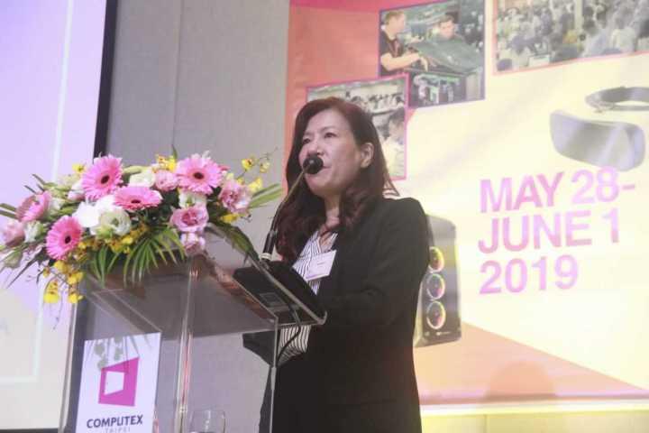 Rachel Hsiu Ling Lu, diretora do Taitra Brasil. Crédito da imagem: Bruno Oliveira