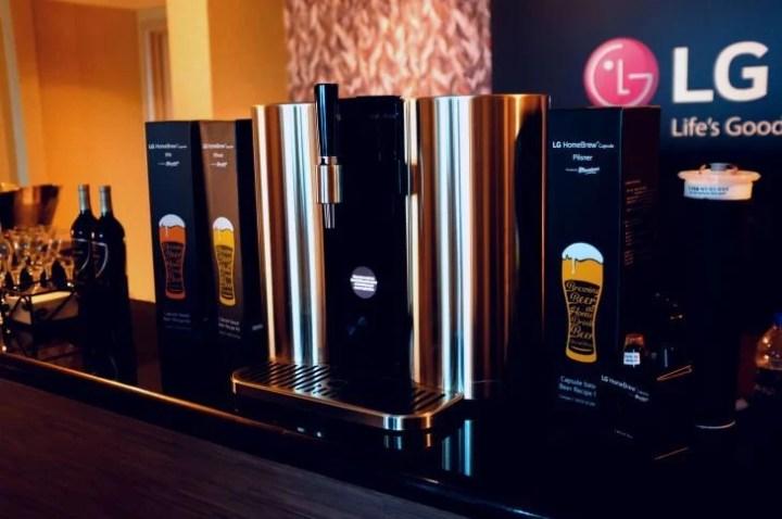 Cervejeira HomeBrew da LG