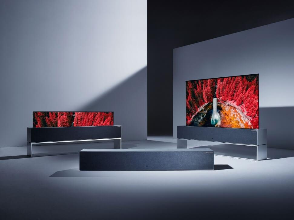 LG Signature OLED TV R garantiu mais de 70 prêmios para a LG na CES 2019 4