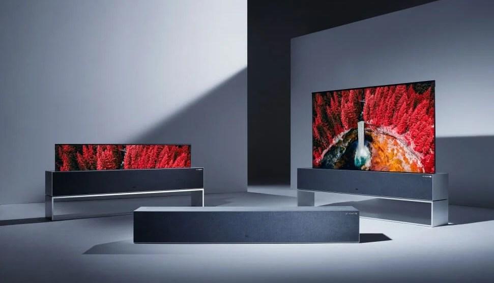 LG Signature OLED TV R garantiu mais de 70 prêmios para a LG na CES 2019 5