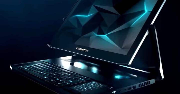 Triton 900, um dos novos notebooks predator