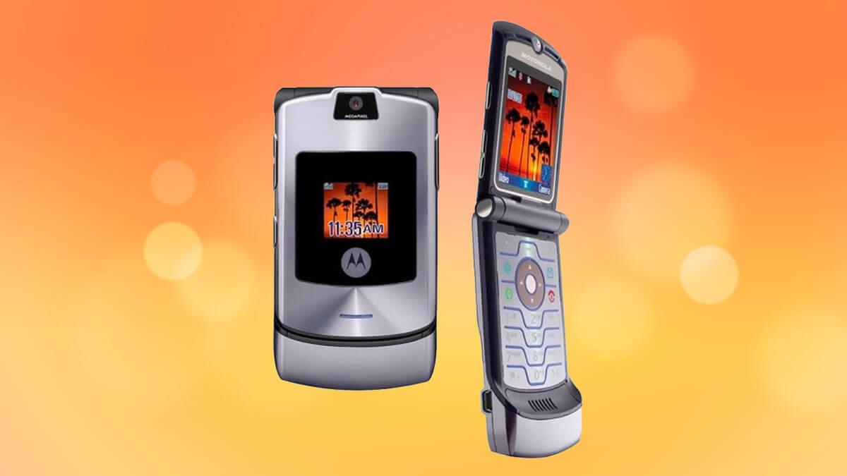 Motorola RAZR V3 poderá voltar em novo smartphone com tela dobrável
