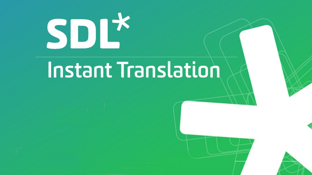 SDL Free Translation