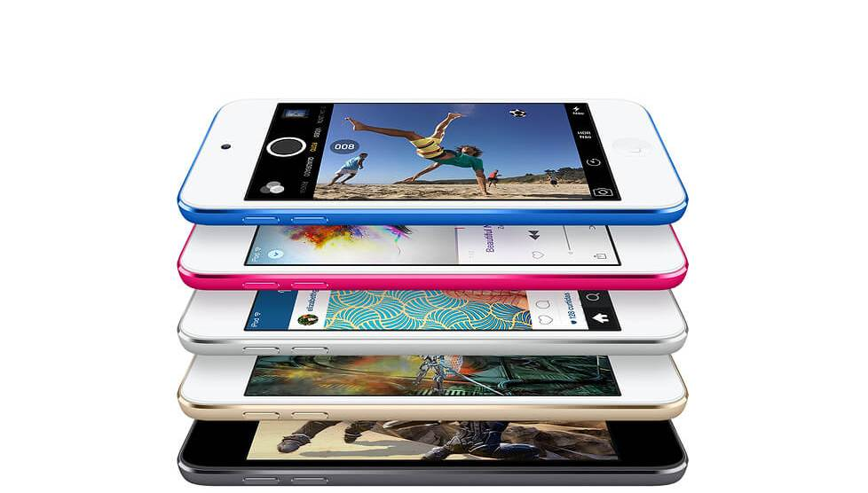 A última atualização de hardware do iPod Touch ocorreu em 2015