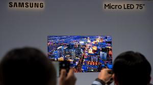 """CES 2019: nova TV MicroLED de 75"""" da Samsung é revelada 11"""