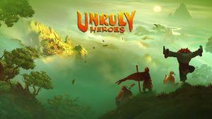 Unruly Heroes - Tela De Início