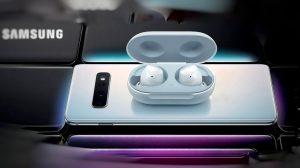 Galaxy Buds: fone de ouvido sem fio da Samsung vaza ao lado do Galaxy S10 8