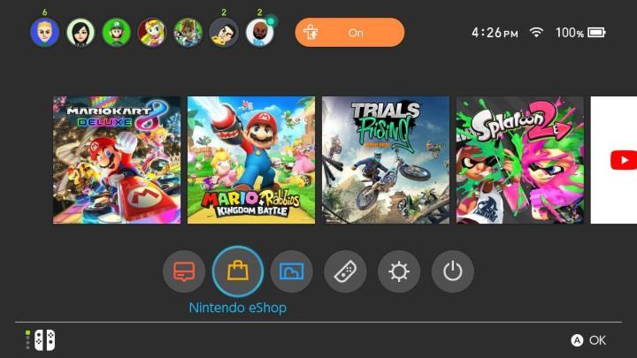 Nintendo Switch: veja como funciona o compartilhamento de contas 3