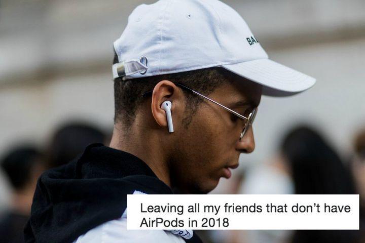 AirPods são material para memes