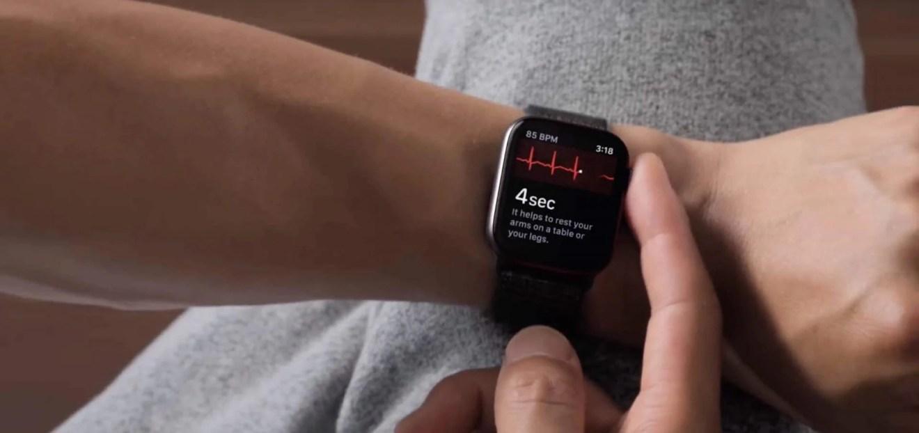 ECG no Apple Watch 4