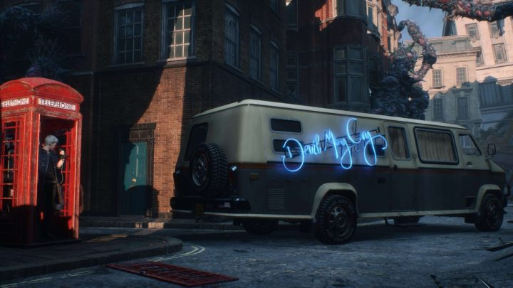 A van de Nico em Devil May Cry 5.