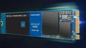 SSD WD Blue SN500 NVMe