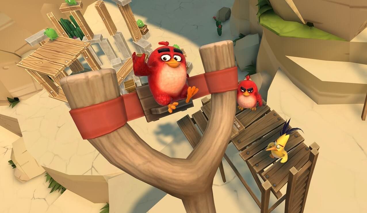 Angry Birds em realidade virtual está chegando no  iPhone 4