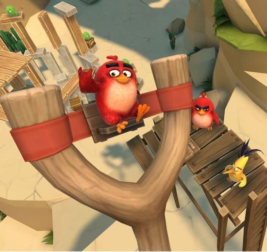 Angry Birds em realidade virtual está chegando no  iPhone 7