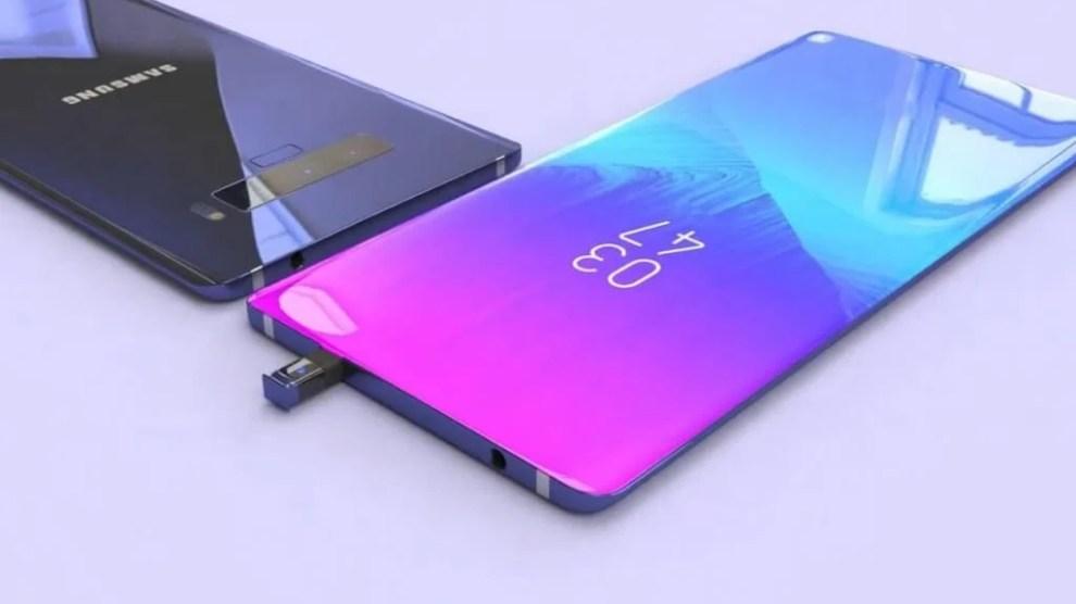 Galaxy Note 10 pode chegar ao mercado sem botões físicos, afirma site 4