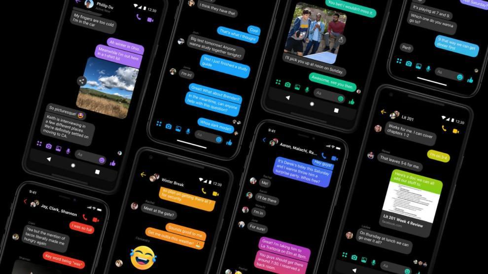 Facebook Messenger: Modo Escuro
