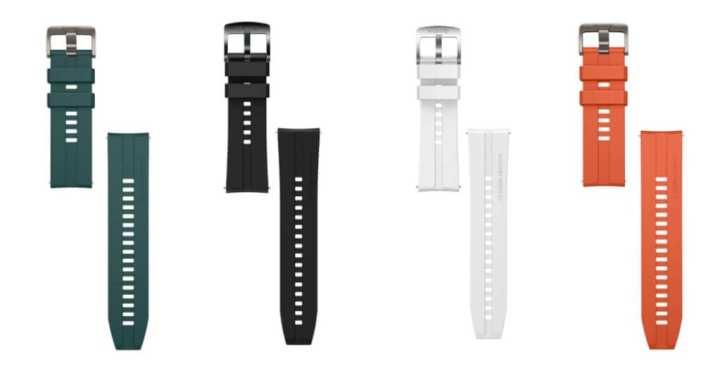 Active tem opções de pulseiras laranja ou verde escuro, enquanto Elegant tem opções preta ou branca