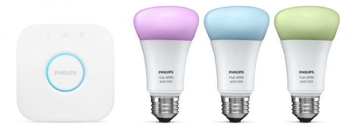 Lâmpada inteligente philips hue