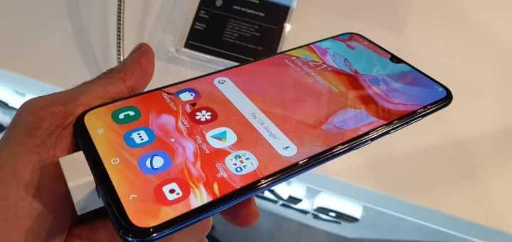 Galaxy A 2019 A70