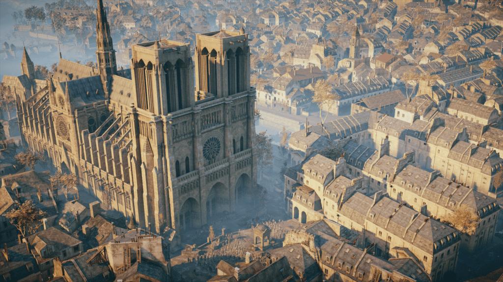 Notre Dame: Assassin's Creed Unity será usado para reconstruir a catedral 7