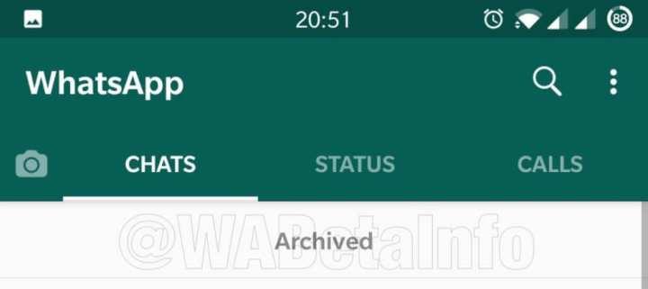 Nova janela WhatsApp
