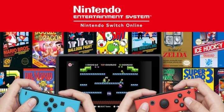 Nintendo Switch na foto