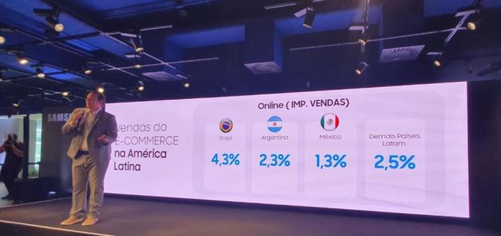 Linha Galaxy M é lançado no Brasil