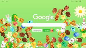 Google na Páscoa