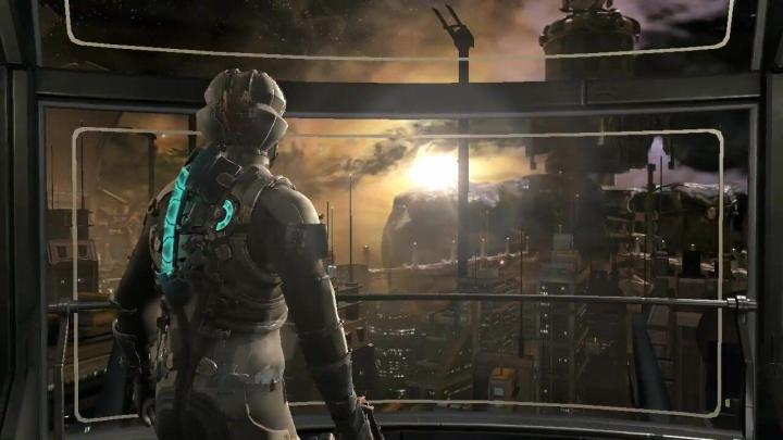 OEAA pode ser visto em todas as bordas dos objetos em Dead Space 2