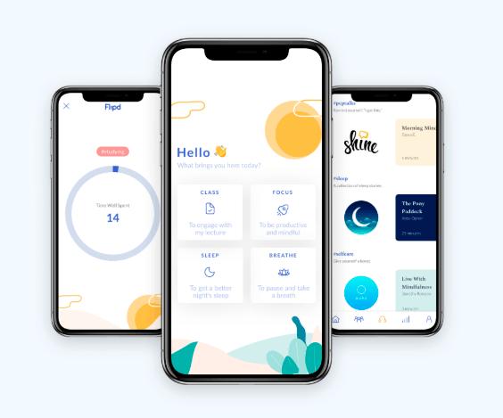 Flipd é um aplicativo que ajuda a monitorar e controlar o uso do aparelho