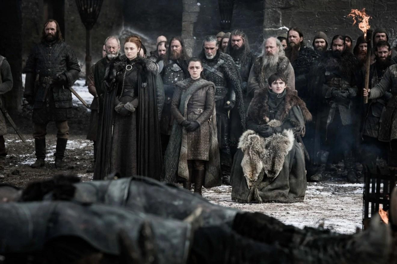 Cena do quarto episódio de Game of Thrones.