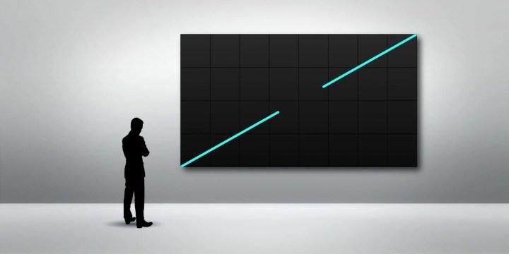 Painel de LED Samsung modelo IF020H