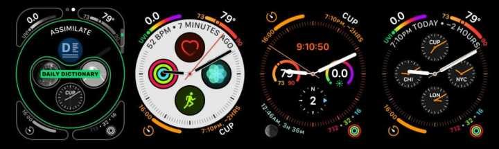 watchOS 6 virá com várias opções de novas faces