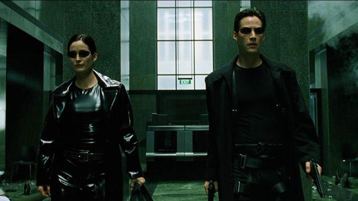 simulação de computador matrix